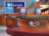 KYW TV anchor news set