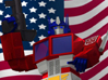 Optimus Prime and The Flag