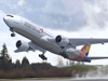 Asiana Airlines Boeing 777-300 on Approach