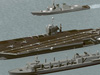 U.S. Navy carrier battle group