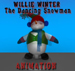 Animated Willie Winter~the Annoying Dancing Snowma