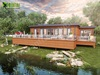 Lodge Exterior Rendering Pond – Creative ideas