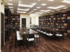 Library Reading Room 3D Interior Design